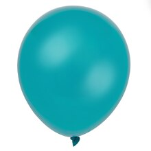 "12"" Latex Teal Balloons, 72ct"