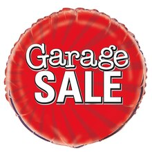 Foil Garage Sale Sign Balloon, 18""