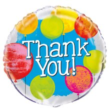 Foil Bright Thank You Balloon, 18""