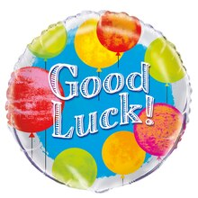 Foil Bright Good Luck Balloon, 18""