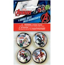 Avengers Bouncy Ball Party Favors, 4ct Packaged