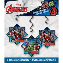 Hanging Avengers Decorations, 3ct Package