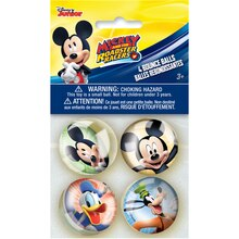 Mickey Mouse Bouncy Ball Party Favors, 4ct
