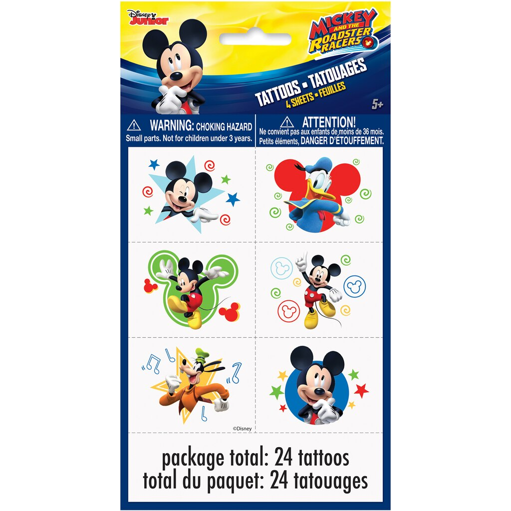 Mickey Mouse Temporary Tattoos | Mickey Mouse Party Favors