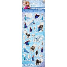 Puffy Disney Frozen Sticker Sheet