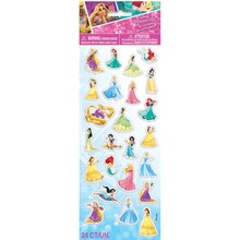 Puffy Disney Princess Sticker Sheet