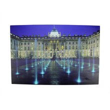 LED Lighted Somerset House London Wall Art