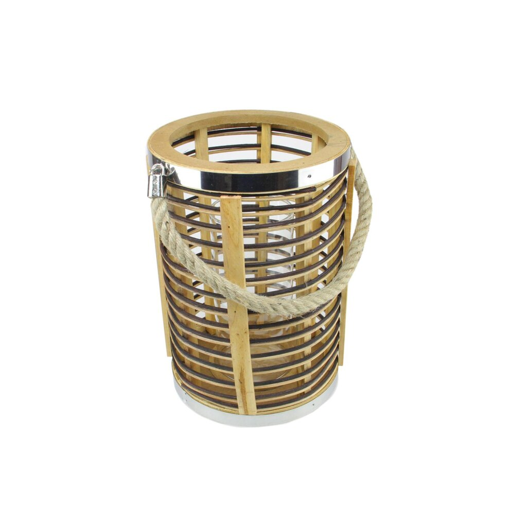 Decorative Candle Holders 75 Rustic Chic Cylindrical Rattan Decorative Candle Holder Lantern