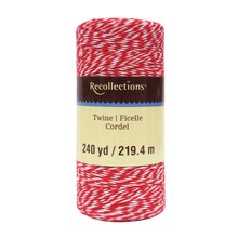 Red Twine Spool By Recollections