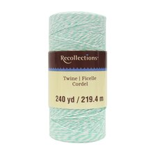 Mint Green Twine Spool By Recollections