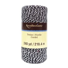 Black Twine Spool By Recollections