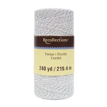 Silver Twine Spool By Recollections
