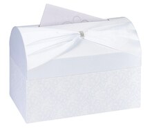 Lillian Rose White Wedding Card Box