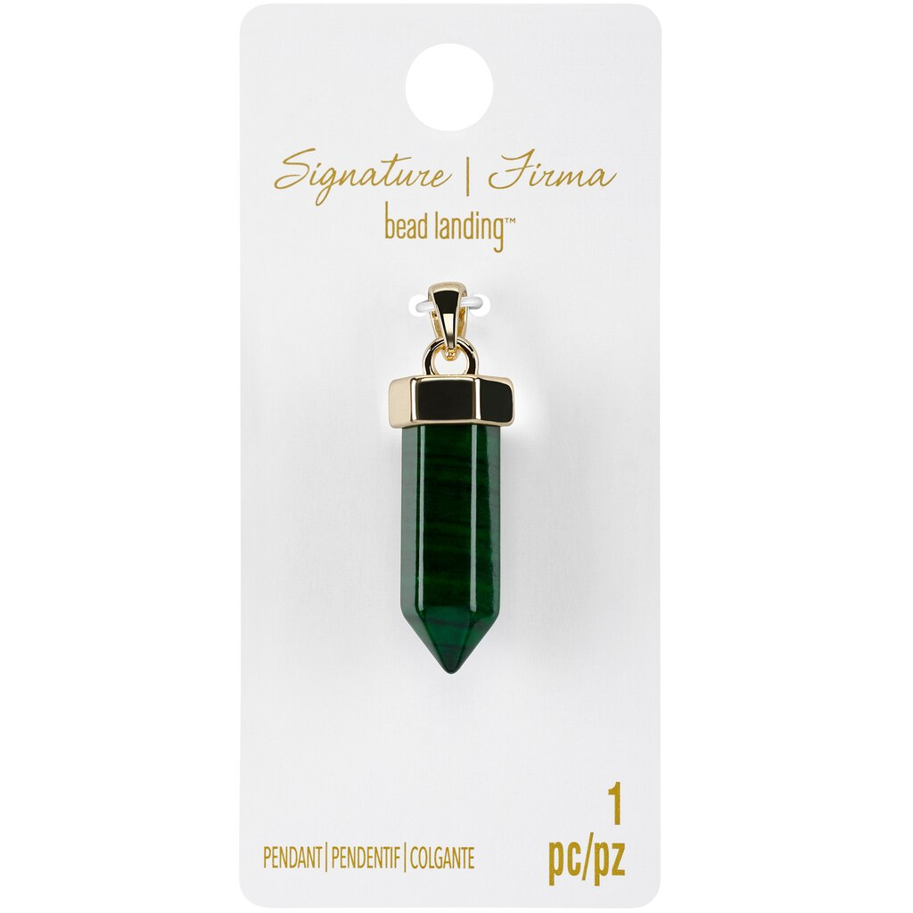 Find the signature sedona malachite point pendant by bead landing signature sedona malachite point pendant by bead landing mozeypictures Image collections