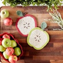 Lily® Sugar 'n Cream® Apple A Day Crochet Dishcloth, medium