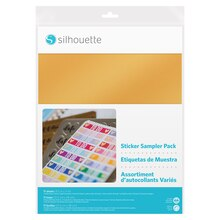 Silhouette Sticker Sampler Pack
