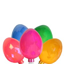 Pearl Multi-Colored Easter Egg Holiday Lights