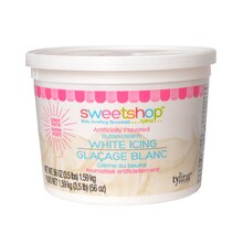 Sweetshop Buttercream Icing, White