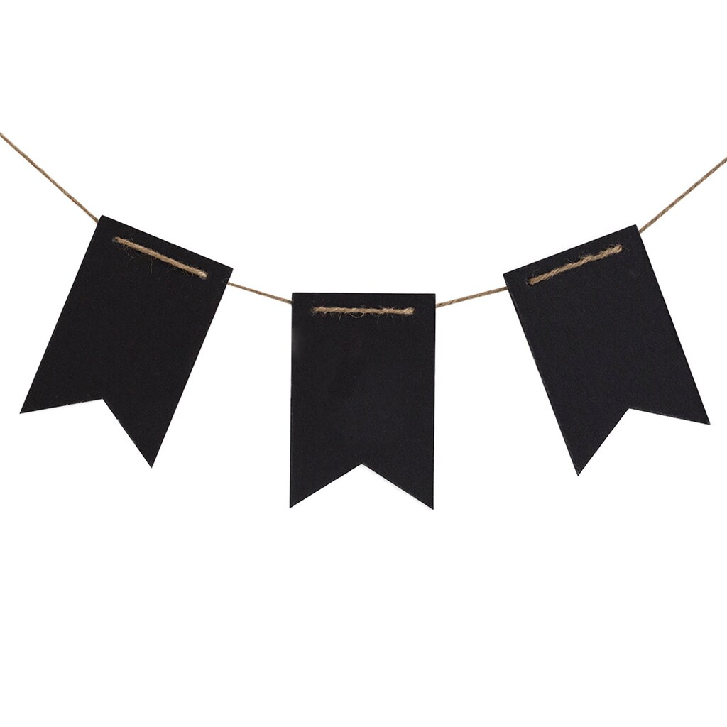 Find The Black Fishtail Chalkboard Banner By Recollections
