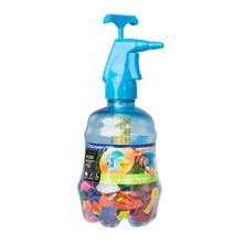 Discovery Kids 3-In-1 Water Balloon Pumper with Balloons, Blue