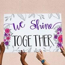 """""""We Shine Together"""" Poster, medium"""