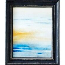 Catalina Abstract Sunset Painting, medium