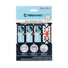 YOUHANGIT Decor & 4 Wall Marking Tools Front