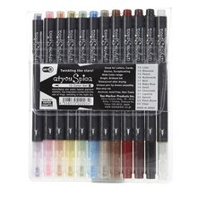 Copic Atyou Spica Glitter Pen Set, 12-Color Set B