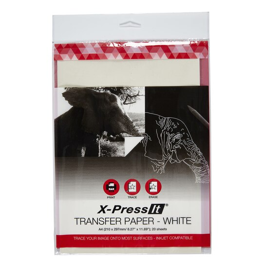 X press it transfer paper