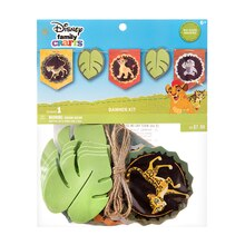 Darice Disney Family Crafts Banner Kit, The Lion Guard