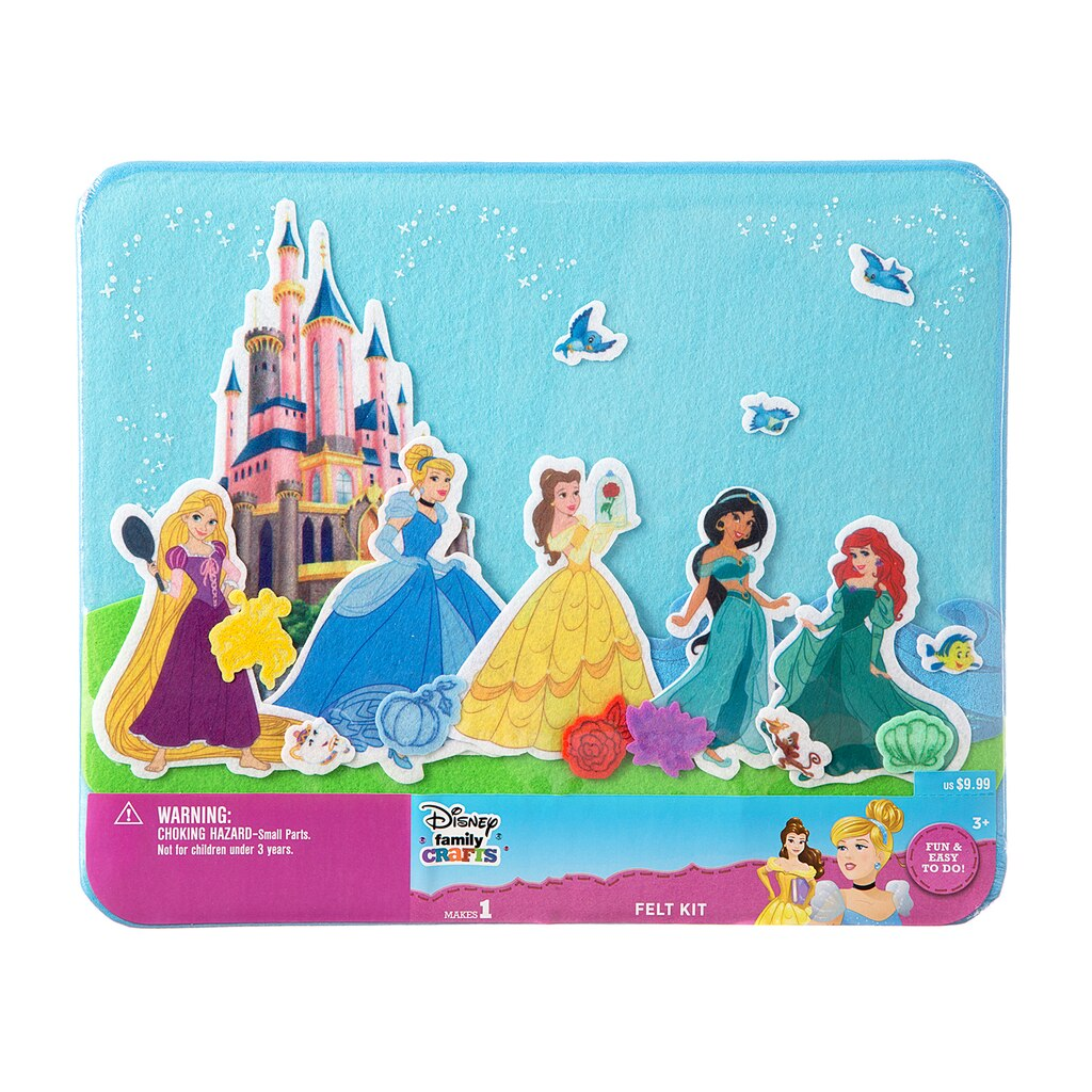 Shop for the Darice® ©Disney Family Crafts Felt Board Kit ... - photo#3