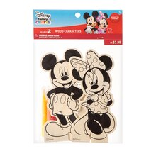 Darice Disney Family Crafts Color-In Characters, Mickey & Minnie
