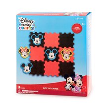 Darice Disney Family Crafts Box of Games, Mickey Mouse