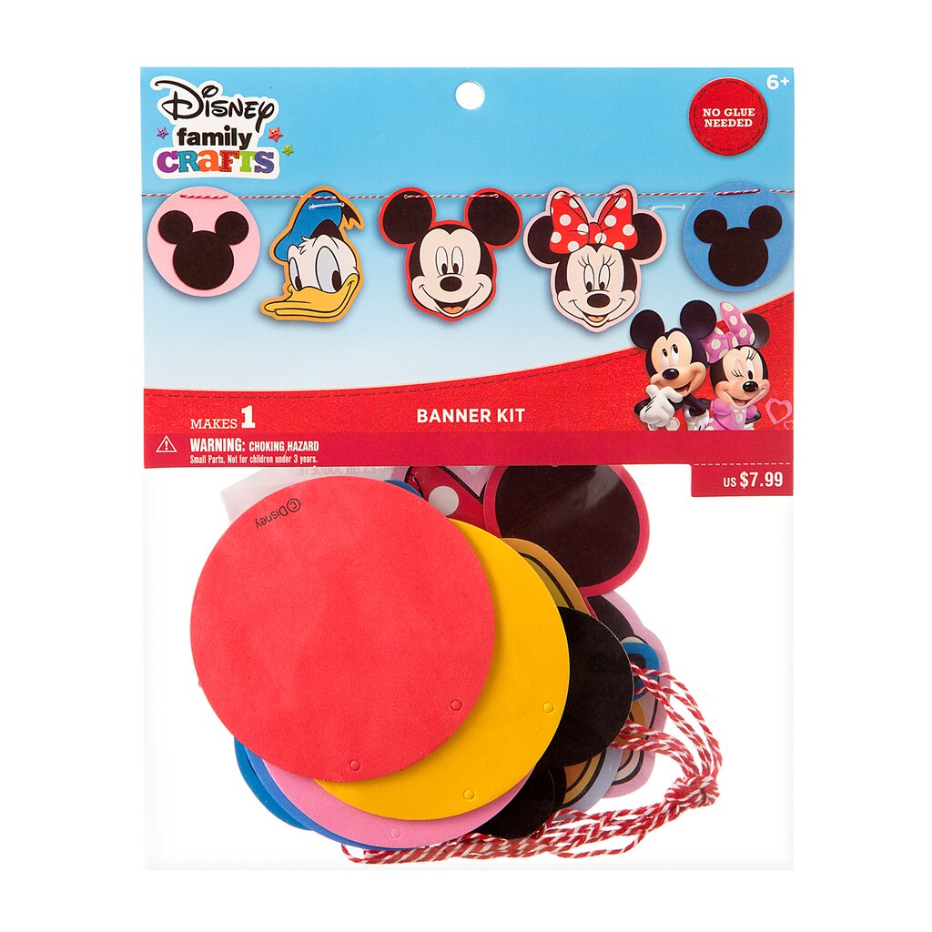 Find the ©Disney Family Crafts Banner Kit, Mickey at Michaels - photo#24