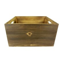 Heritage Medium Rectangle Storage Wood Crate By Ashland