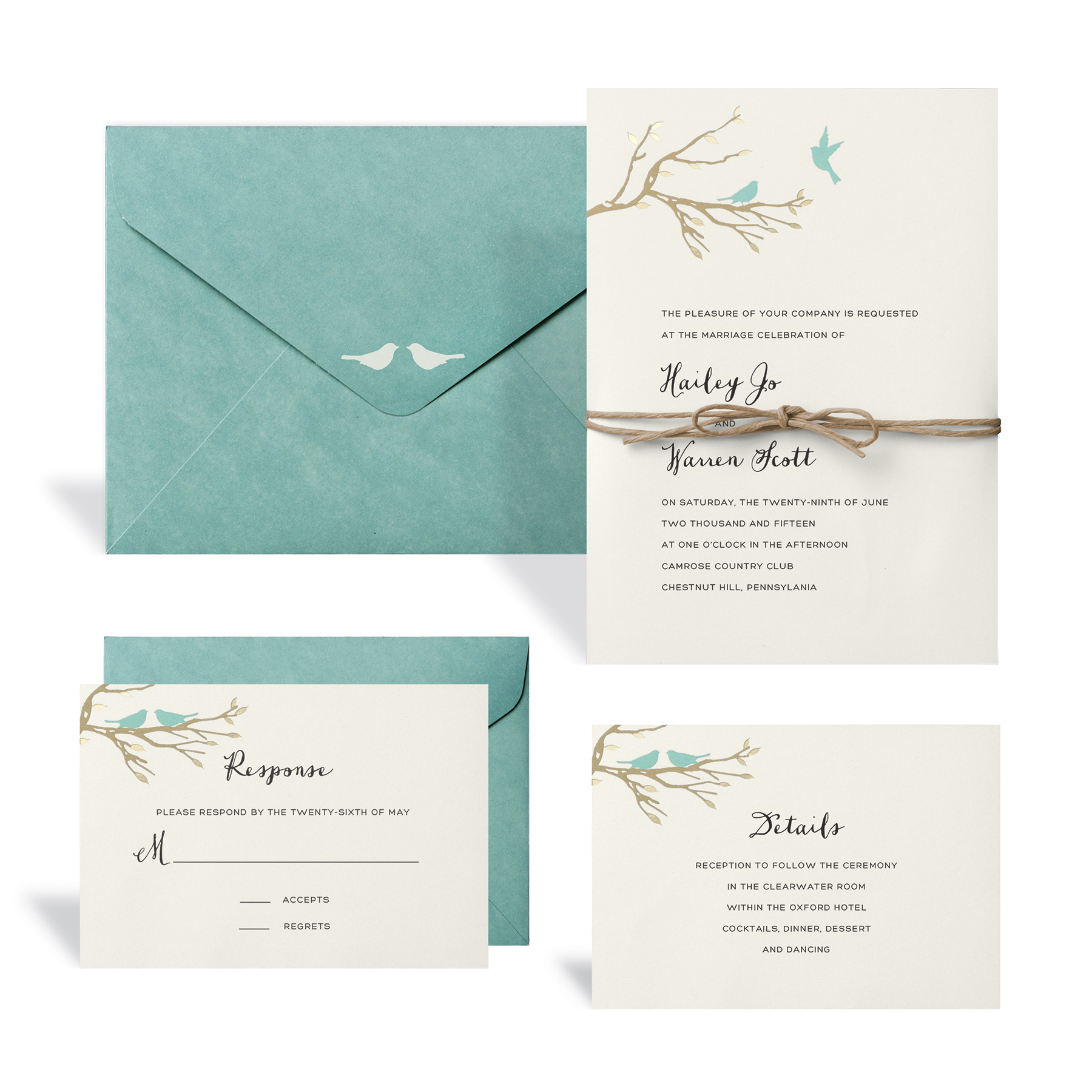 Buy the Love Birds Wedding Invitation Kit By Celebrate It at Michaels