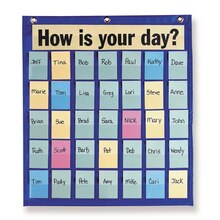 Behavioral Pocket Chart With 180 Blank Name Cards