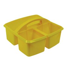 Small Yellow Utility Caddy, 6 Count