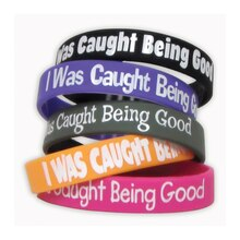 I Was Caught Being Good Wristband Pack, 6 Packs