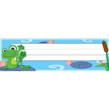 FUNky Frogs Nameplates, 6 Packs