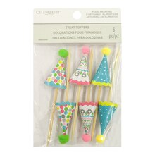 Party Hat Treat Toppers By Celebrate It