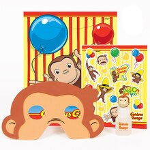 Curious George Party Favor Kit for 4