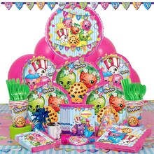Deluxe Shopkins Party Supplies Kit for 8