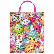 "13"" x 11"" Large Plastic Shopkins Goodie Bags, 12ct"