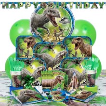 Deluxe Jurassic World Party Supplies Kit for 8, medium