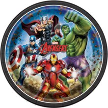 "9"" Avengers Party Plates, 8ct"