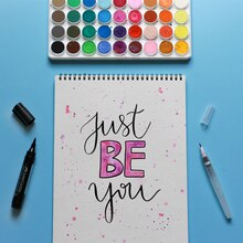 """""""Just Be You"""" Inspirational Quote, medium"""