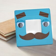 Father's Day Mr. Mustache Duck Tape® Frame, medium