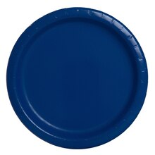 """7"""" Navy Blue Party Plates, 20ct"""