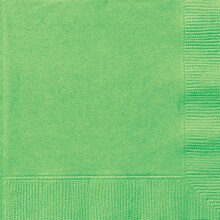 Lime Green Luncheon Napkins, 20ct